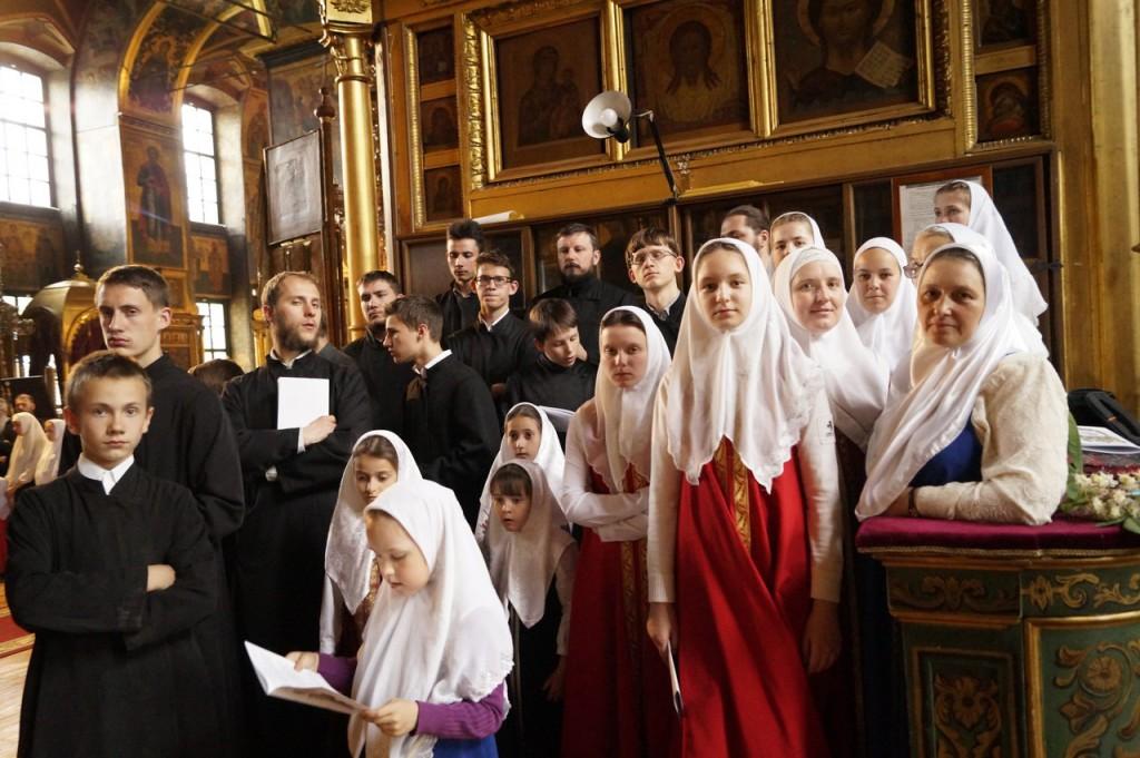 Хор РПСО в Покровском соборе