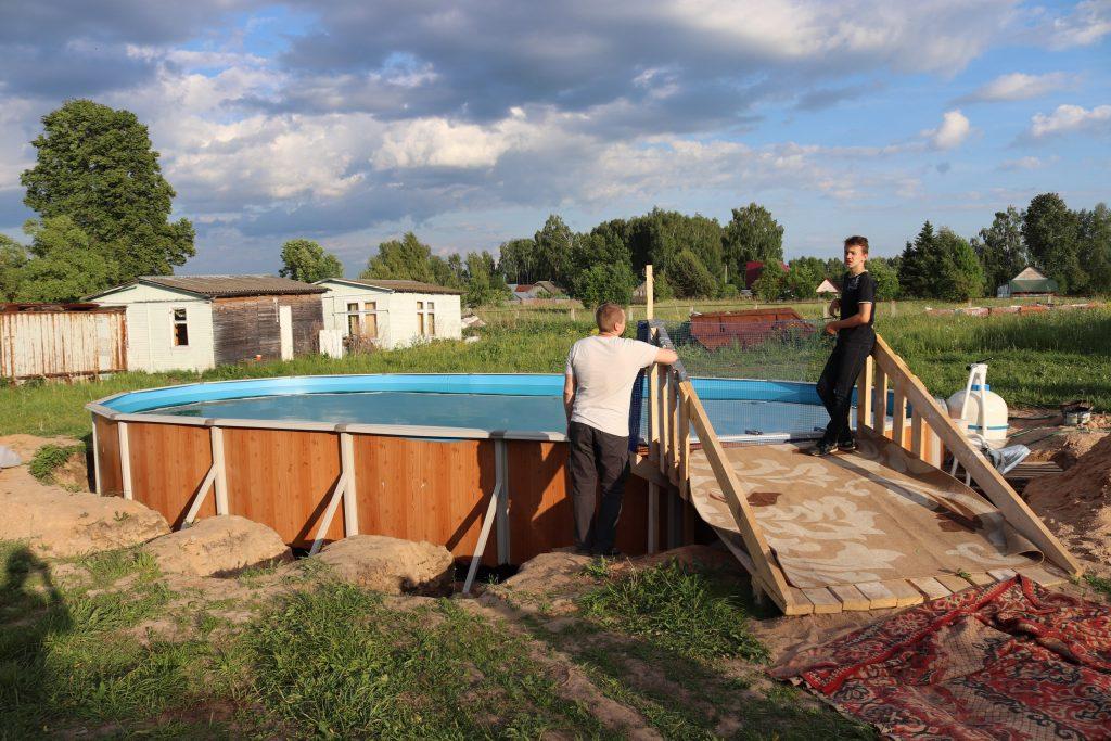 Бассейн в Ржевской обители