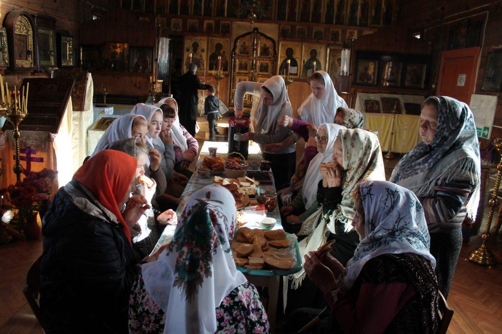 Чаепитие по завершении собрания
