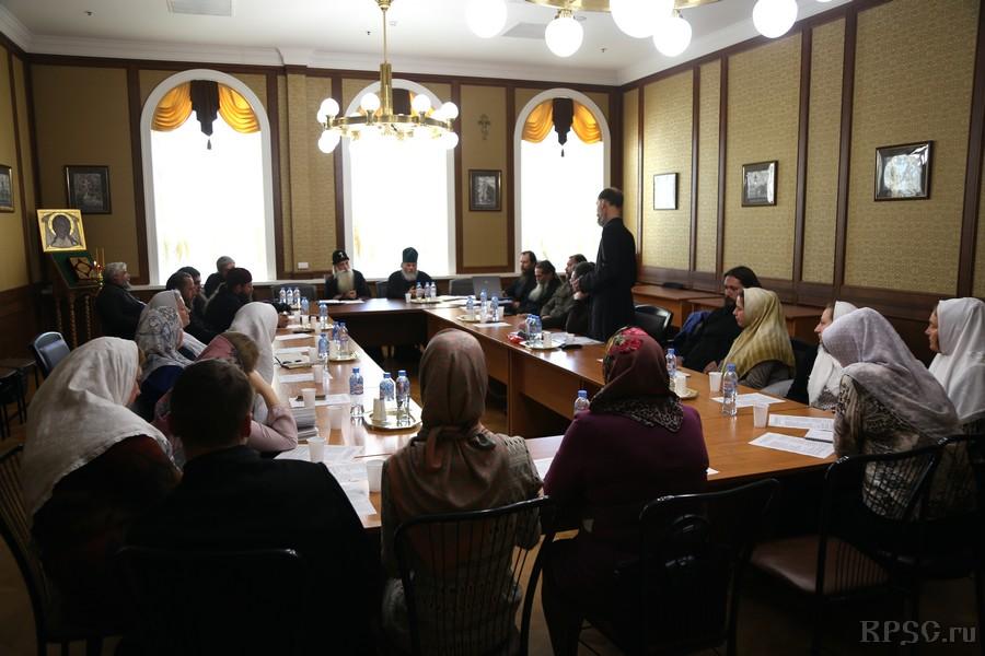 Епархиальное совещание проходило на Рогожском в Доме Причта