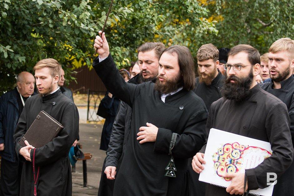 Старообрядческий хор. Руководитель Виталий Москвичев.