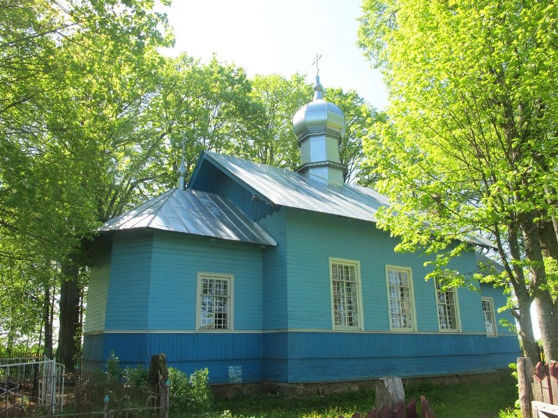 Никольский храм в Корьхово