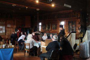Собрание общины в Сычевке