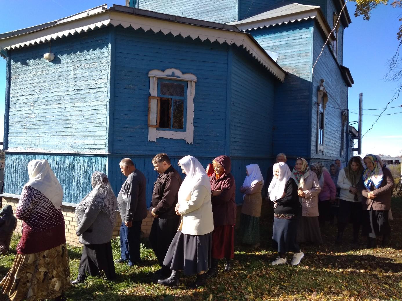 Праздник собрал многих жителей Сычевки